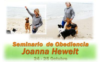 SEMINARIO OBEDIENCIA CON JOANNA HEWELT
