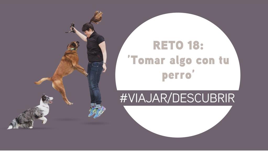Reto 18: Tómate algo con tu perro