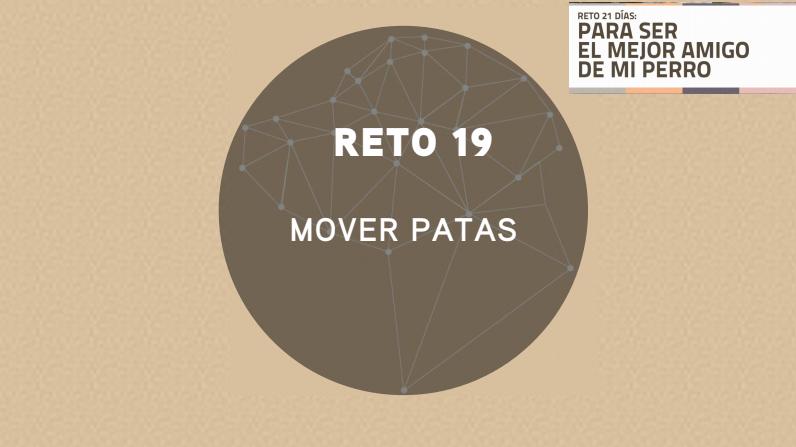 RETO 19: MOVER LAS PATAS (2018)