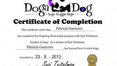 yoga con perro suzi teitelman