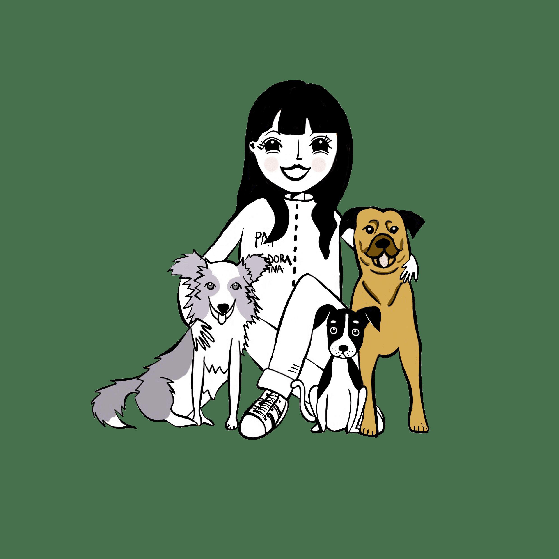 Ilustración Familia Perruna